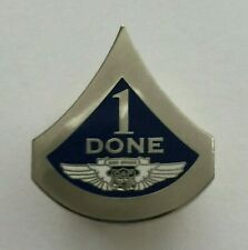 Confederate Air Force Pin 1 DONE Hat Collar Lapel Pin Vintage