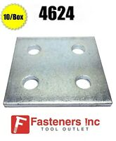 """2//BOX #4630 P1726 5-Hole Flat /""""T/"""" Splice Plate Fitting for Unistrut Channel"""