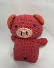 Handmade Crochet Piggy (Baby/ Kids) Stuffed Animal Toy