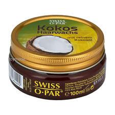 Swiss-O-Par KOKOS Haarwachs 100ml mit reinem Kokosöl Coconut Hair Wax Haarpflege