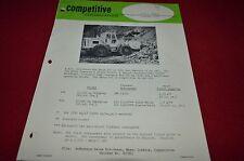 Caterpillar A.S.J. Parca Loader Competitive Information Dealer Brochure DCPA8