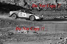 Sandro Munari Lancia Stratos HF ganador cobraba lagos fotografía Rally 1974 3