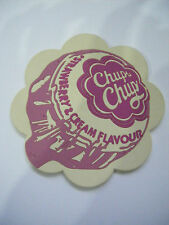 NEW - PVC Coaster - Chupa Chups - Pink Strawberry & Cream Flavour
