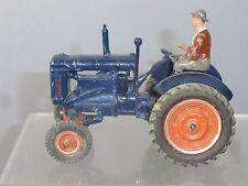 "VINTAGE BRITAINS MODEL No.128F FORDSON ""Major"" Tracteur & driver"