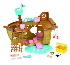 Sylvanian Families Adventure Treasure Ship Boat Toy Playset Brand New In Box