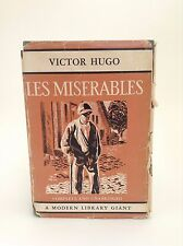 1931 LES MISERABLES Victor Hugo MODERN LIBRARY GIANT with Dust Jacket CLASSICS