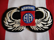 Army 82nd Airborne Mini Patch New Embroidered Hat Jacket Bag Coat Full Color