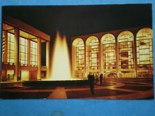 Postcard Usa New York Lincoln Center For Perfoming Arts