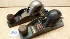 Pair of Stanley Planes #110 Block Plane and Stanley Defiance Block Plane (B46)
