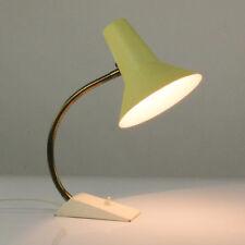 alte SIS Lese Lampe Schwanenhals Schrumpflack Arbeits Leuchte 50er Jahre vintage
