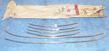1962 Galaxie 500 Monterey Custom 4-DOOR ORIG NOS LH+RH DOOR EDGE TRIM GUARD KIT