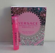 1x VERSACE Bright Crystal Absolu Eau de Parfum mini Spray Perfume, Brand NEW!!