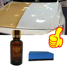 30ml 9H Nano Hydrophobic Ceramic Coating Glass Car Polish Anti-scratch&Sponge