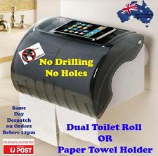 Paper Towel Waterproof Box Holder Kitchen,Pantry & Bathroom - Super Suction Cup