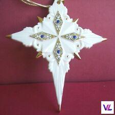 Lenox China Jewels Nativity Star of Bethlehem Christmas Ornament in Box