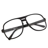 "Nerdy Inspired Oversize Clear Lens Key Hole ""Steve Urkel"" Glasses Square Costume"