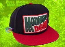 New Mountain Dew Retro Soda Snapback CONCEPT1 Hat Cap