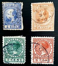 ANTIQUE RARE COLLECTIBLE SET OF NETHERLANDS POSTAGE STAMPS
