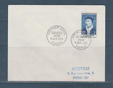 enveloppe 1er jour  célébrité  Maurice Ravel   1956