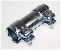 1x BayWorld Auspuff Universal Rohrverbinder 43x46,7x125mm Doppelschelle 43x125mm