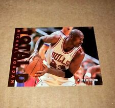 HOT 1995-96 Fleer TOTAL D Michael Jordan INSERT #3 - Vintage Bulls!