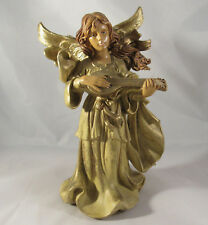"Vintage Fontanini Angel Mandolin 8.5"" Depose Italy Christmas"