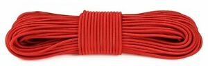 *SALE* 100m Stretchy, bright Paddle Board bungee for tying down cargo - Red (mi)