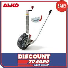 "ALKO Jockey Wheel Power Mover 10"" Solid Tyre with Weld On Or Bolt Clamp - 621250"