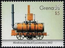 Middleton Colliery Blenkinsop 1812 PRINCE REGENT Rack Locomotive Train Stamp