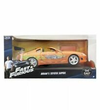 Jada Toys Fast & Furious Movie 1 Brian's Toyota Supra Diecast Collectible Toy Ve