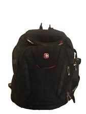 Swiss Gear Backpack Book Laptop Travel School Computer Black