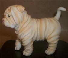 NEMESIS NOW 16.5cm SHAR-PEI / SHAR PEI / SHARPEI PUPPY DOG SCULPTURE FIGURINE