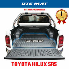 Toyota Hilux SR5 2015 + A-Deck and J-Deck Dual Cab Rubber Ute Mat