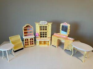 Barbie vintage accessory lot furniture