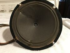 """vintage  radio speaker  10""""- out of Northern Elec. console radio model 921 -A"""