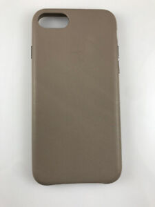 Original Genuine OEM Apple Leather Case for iPhone 7 8 / SE 2nd Generation Taupe