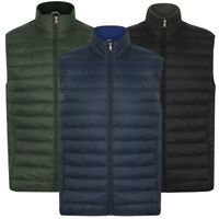 Tokyo Laundry Men's Couloir Quilted Padded Puffer Gilet Bodywarmer Size S M L XL