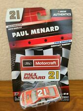 2019 Wave 7 Paul Menard Ford Motorcraft 1/64 NASCAR Authentics Diecast