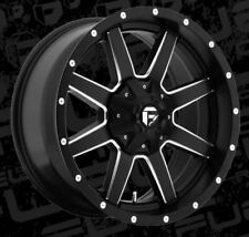 Fuel Maverick D538 20x9 8x180 ET20 Black Rims (Set of 4)