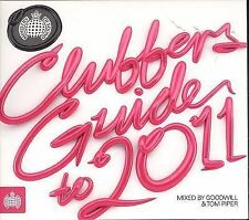 Ministry of Sound Clubbers Guide to 2011 2-disc CD NEW