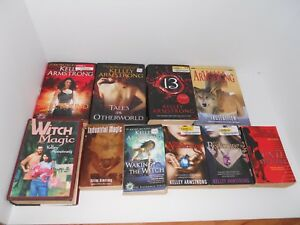 KELLEY ARMSTRONG lot of 10 PB & HC Dime Store OTHERWORLD Series Witch Magic