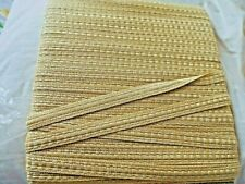 GOLD  Upholstery Braid (sold by the mtr.) 15 mm wide