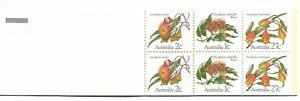 1982 60c Eucalypt Booklet Complete MUH/MNH as Purchased from Post Office