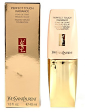 Yves Saint Laurent Perfect Touch Radiance Radiant Brush Foundation 12 new