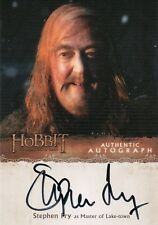 The Hobbit The Desolation Of Smaug, Stephen Fry 'Master Of Lake-Town' Auto SF