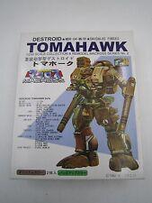 Anime Macross 1/200 Scale MBR-04-MK VI Destroid Tomahawk Model Kit Nichimo Japan