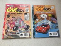 Petersen Cartoons Magazine Oct 1989 & Feb 1990 - No Posters or Lift Outs