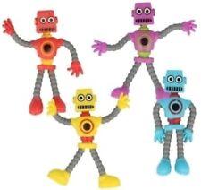 4 X 9cm Bendy Bendable Robot Toy Sensory Aid Adhd/autism Kids Fun Toy