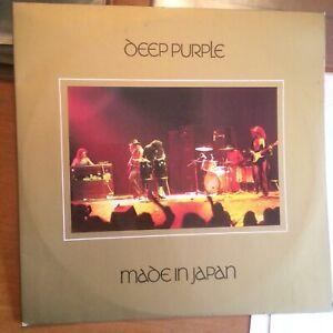DEEP PURPLE MADE IN JAPAN 1973 GATEFOLD VINYL DOUBLE ALBUM LP TPSP 351 NMint