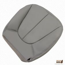 1997 Ford Expedition XLT Sport Driver Bottom Leather Seat Cover GRAY